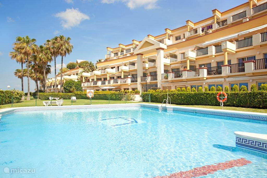 Vakantiehuis Spanje, Costa del Sol, Marbella Appartement Appartement aan het strand Elviria