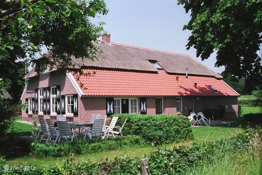 Vakantiehuis Nederland, Overijssel, Lemele - boerderij Erve Blikman