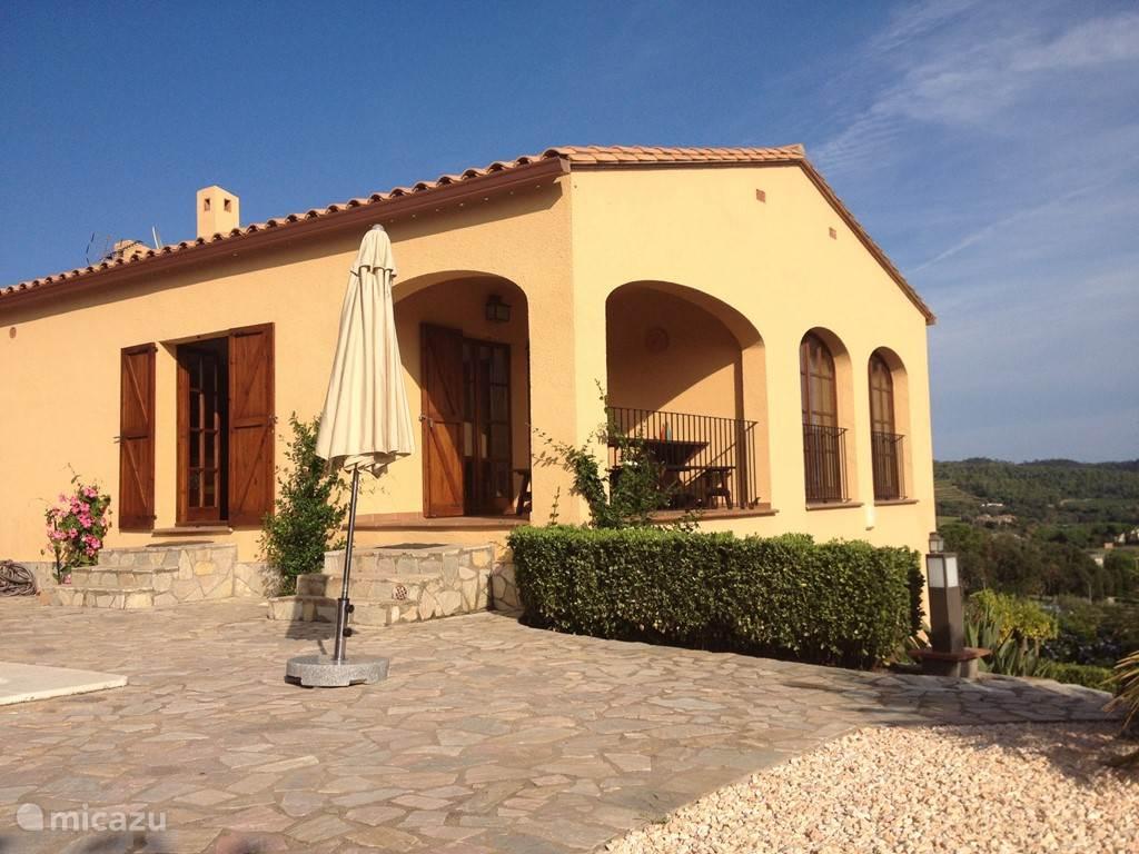 Villa met twee woonlagen