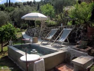 Uw prive zwembadje om te dobberen en af te koelen prachtig gelegen tussen de olijfbomen en geurende lavendel en kruiden, met prachtig uitzicht op het omringende  heuvellandschap