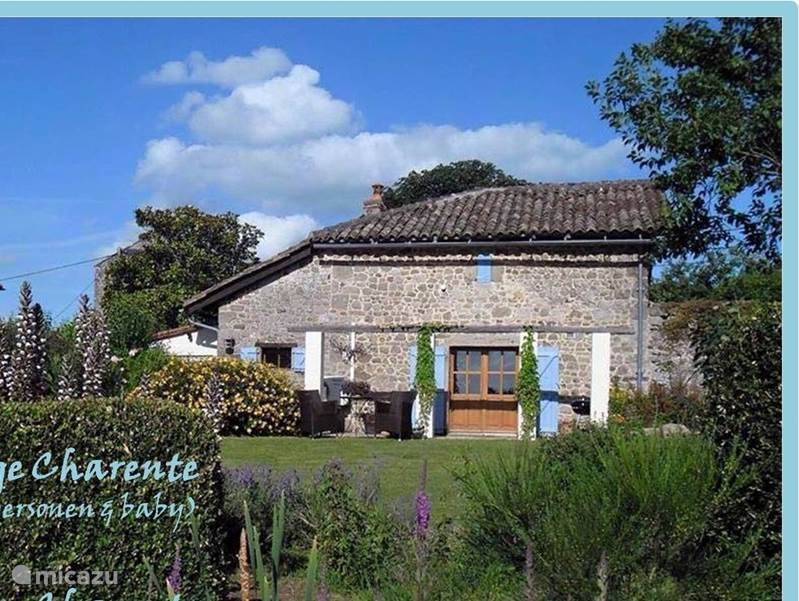 Vacation rental France, Charente –  gîte / cottage Domaine Charente - Cottage Charente