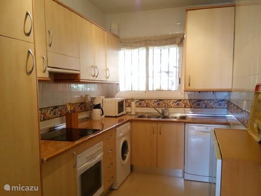 Keuken appartement Reserva de Marbella