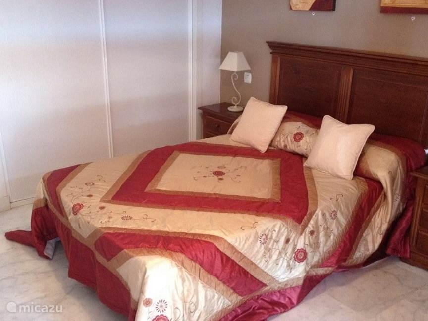 Master bedroom appartement Reserva de Marbella