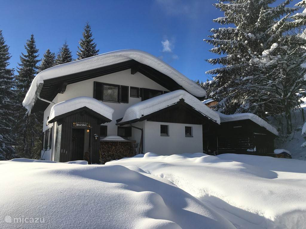 chalet Tauplitz in de winter