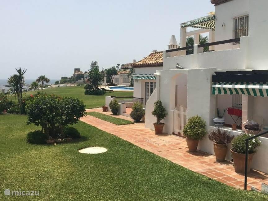 Achterzijde appartement Playa de la Lucera I