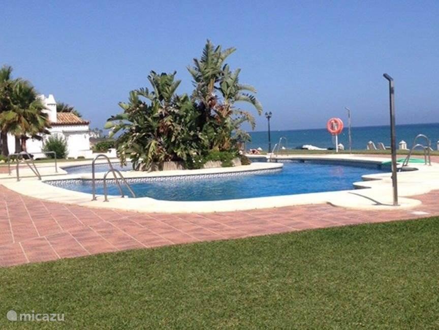 Zwembad appartement Playa de la Lucera I