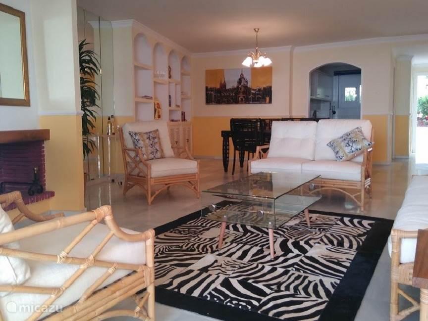 Woonkamer appartement Playa de la Lucera I