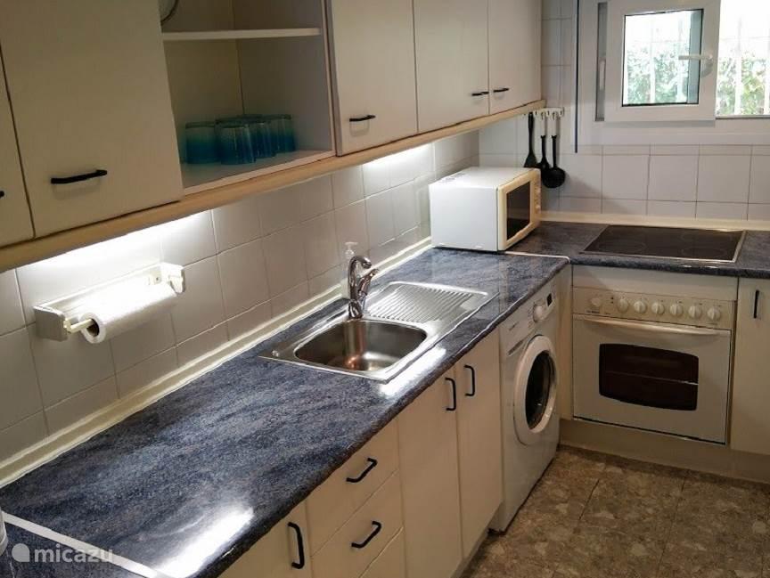 Keuken appartement Playa de la Lucera I
