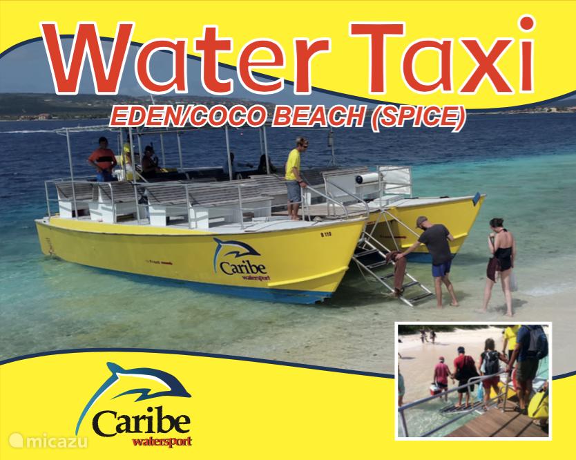Water taxi to Klein Bonaire