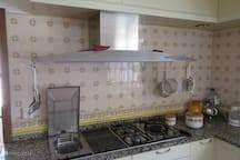 keuken met grill, 4 kookplaten