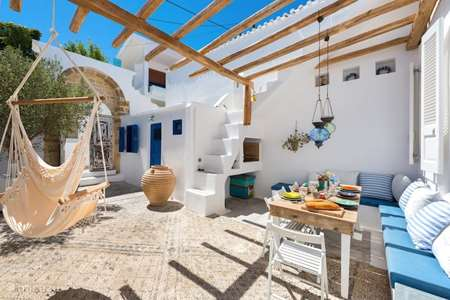 Vacation rental Greece – holiday house Sea Salt, stone built house