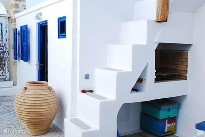 Vakantiehuis Griekenland, Rhodos, Koskinou Vakantiehuis Sea Salt, Stone built house