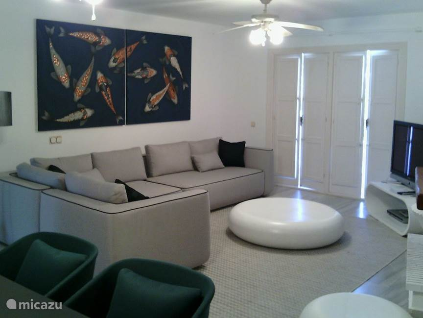 Woonkamer appartement Playa de la Lucera II
