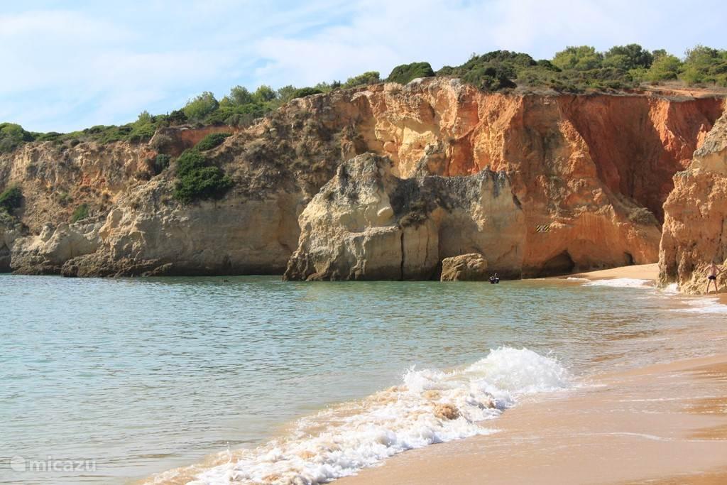 Het strand op nog geen 350 meter afstand