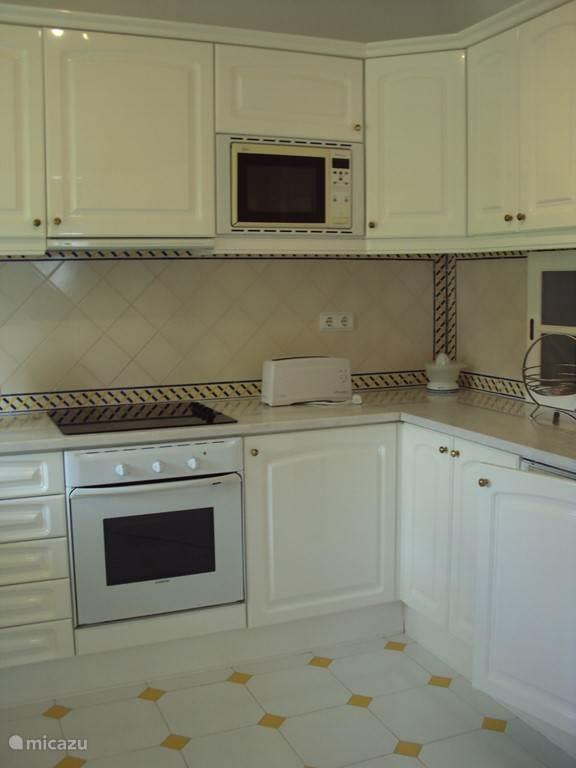 Keuken met alle voorzieningen