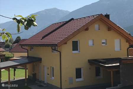 Vacation rental Austria, Carinthia, Kötschach-Mauthen terraced house Villa Sonnata