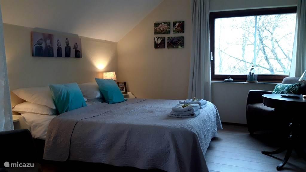 Vakantiehuis Nederland, Noord-Holland, Wieringerwaard bed & breakfast B&B De Pauw: Kamer Natuur