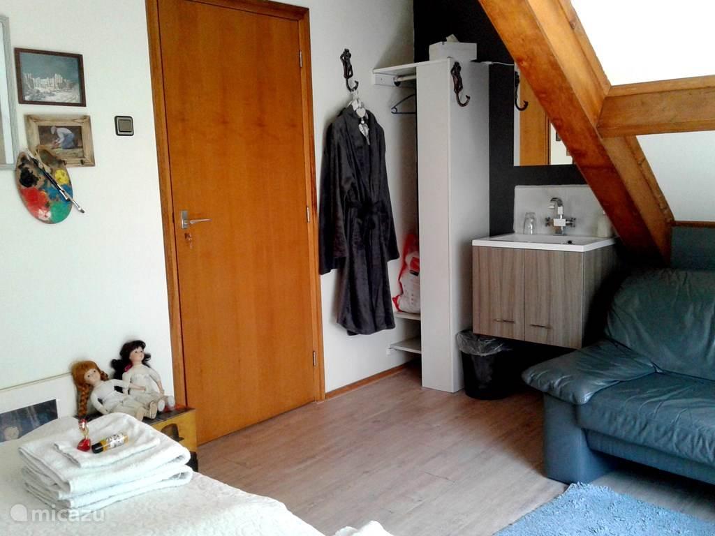 Vakantiehuis Nederland, Noord-Holland, Wieringerwaard Bed & Breakfast B&B De Pauw: Kamer Jopie Huisman