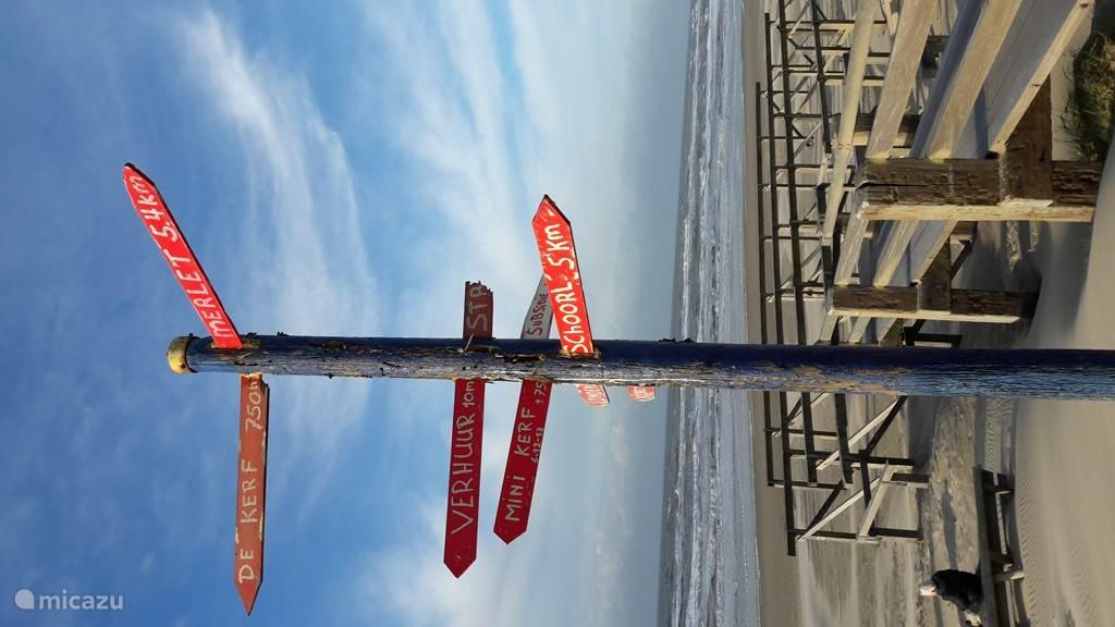 aan het strand bij Schoorl