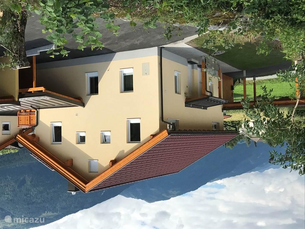 Right side villa with carport