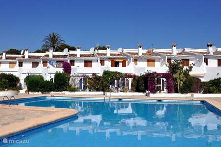 Vakantiehuis Spanje, Costa Blanca, Moraira vakantiehuis Casa 6 Camarrocha Park