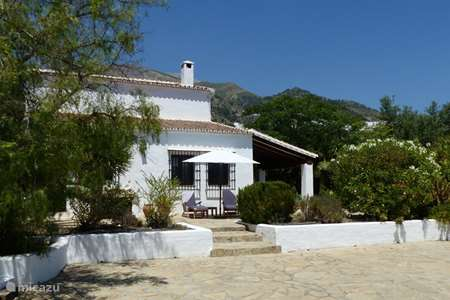 Vakantiehuis Spanje, Andalusië, Canillas de Aceituno - villa Cortijo Masmuda