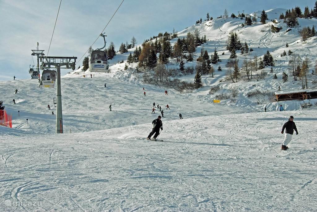 Ski slope in Rauris