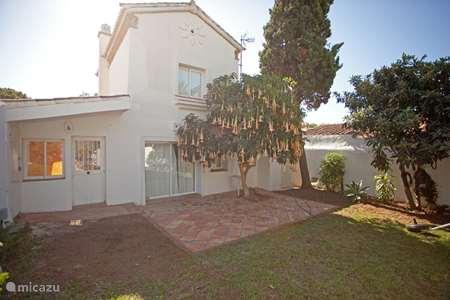 Vakantiehuis Spanje, Costa del Sol, Marbella Elviria - geschakelde woning Charmant huis bij het strand