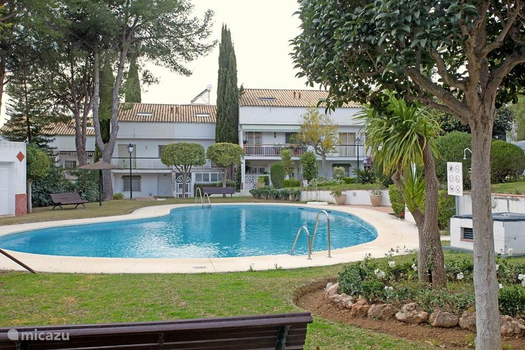 Vakantiehuis Spanje, Costa del Sol, Marbella geschakelde woning Jardines de Marberia