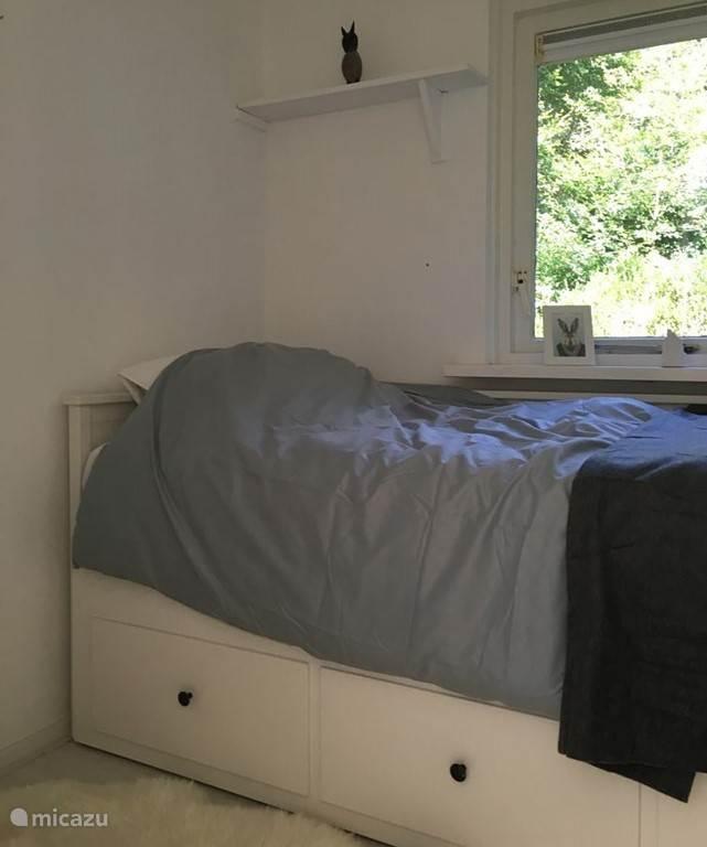 Extra slaapkamer beneden