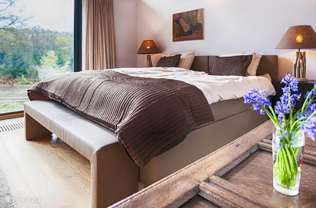 Gelegen nabij Wéris, op een privé-domein van 10.000 m2, tussen beboste hellingen. Rondom en in het huis volop licht en een betoverend landschap. Aspen Villa is een 12 persoons villa met rondom natuur, valleien en bossen.
