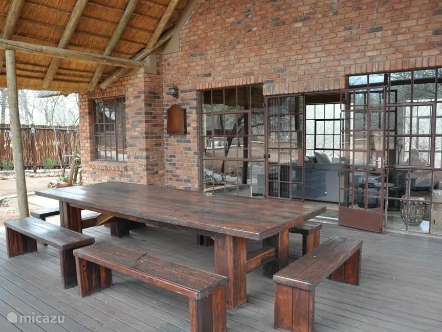 Veranda lounge-huis