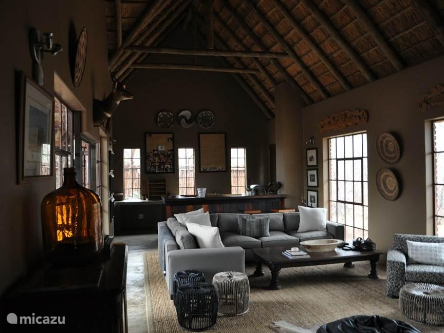 Interieur lounge-huis