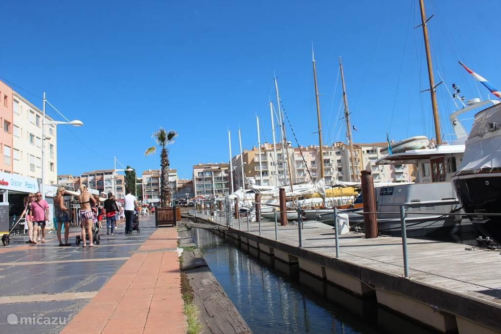 de gezellige haven van Cap d'Agde