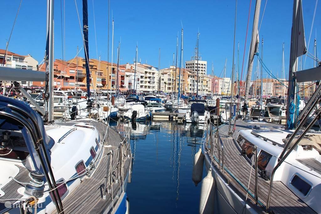 de haven van Cap d'Agde