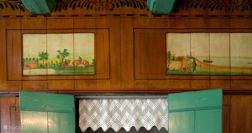 originele beschilderde panelen
