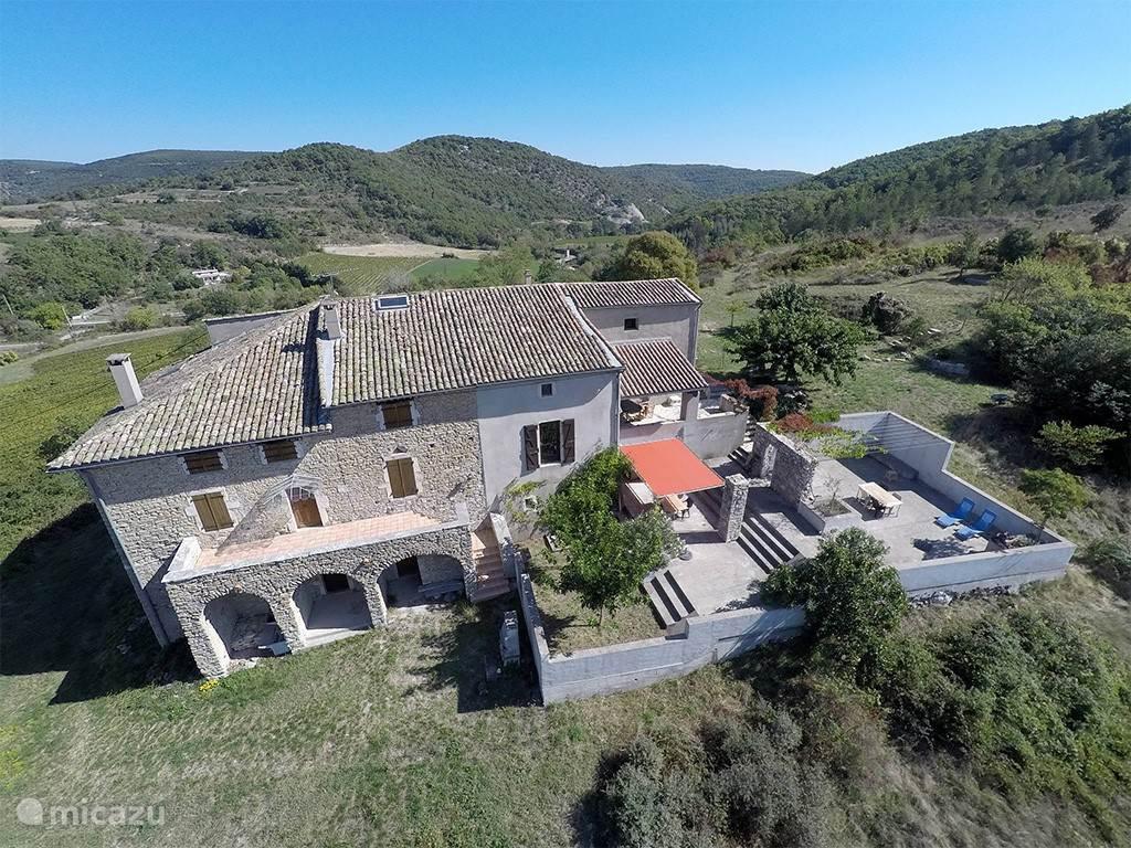 Vakantiehuis Frankrijk, Ardèche, Saint-Thomé - appartement De boerderij, St. Thomé