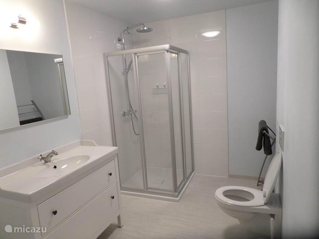 De badkamer op de nachthall