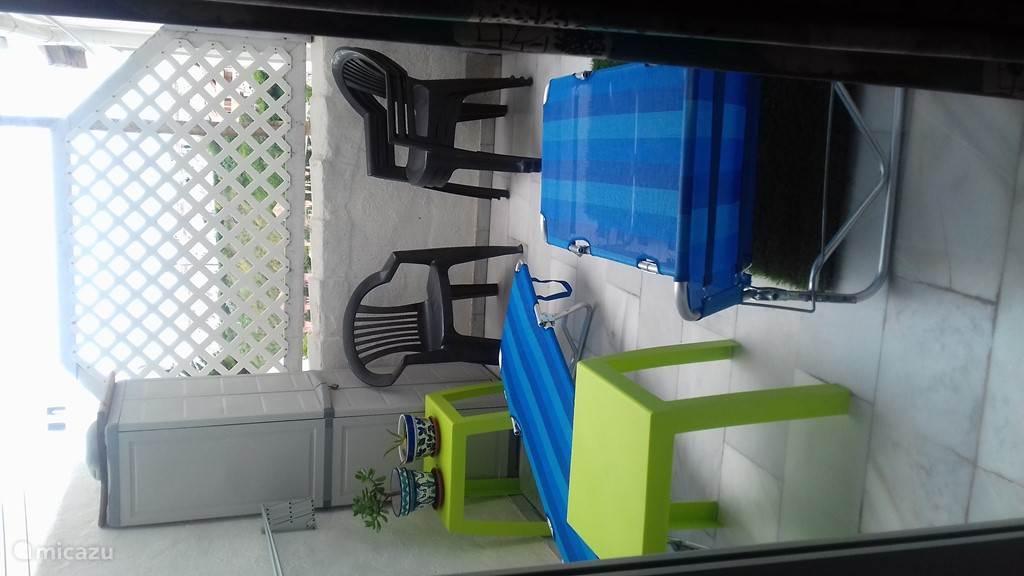 tweede kleine balkon