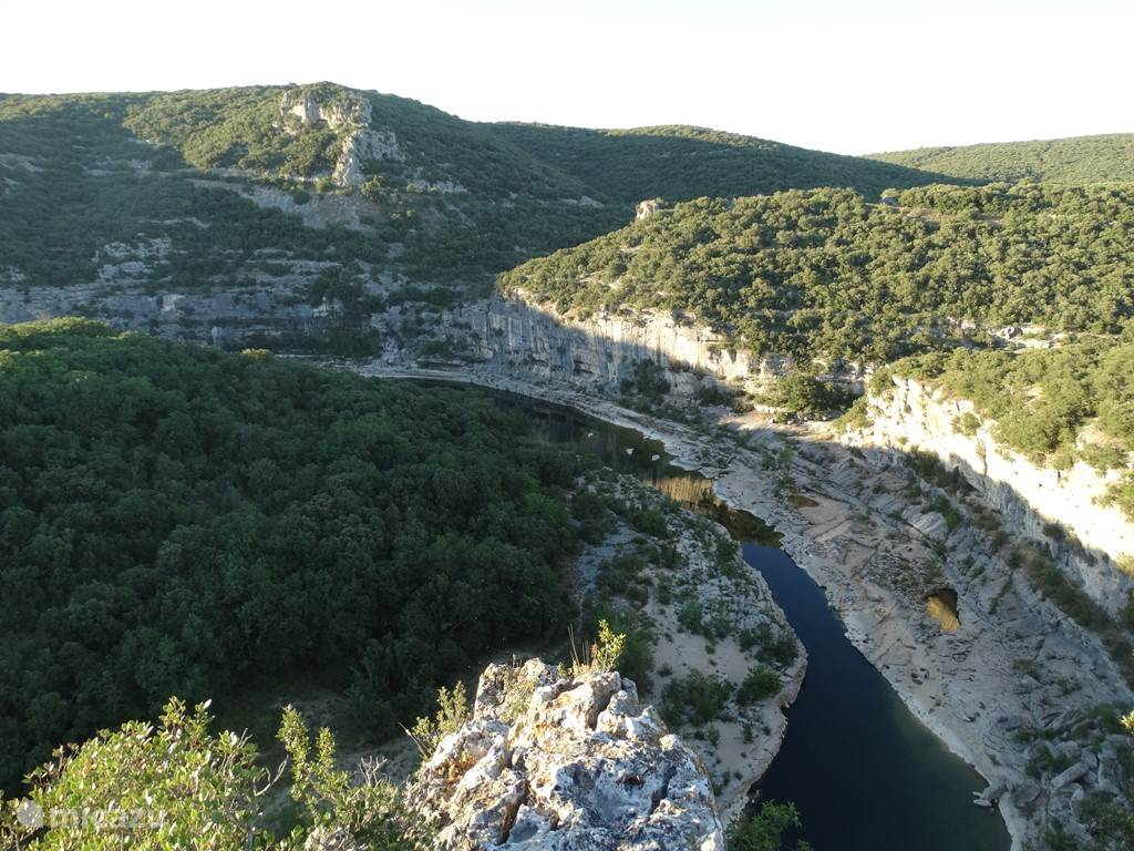 National Route of St. Martin d'Ardèche to Vallon Pont d'Arc, a scenic route features lots of parking for a stop in an indelible journey through the desolate wilderness of the Ardèche!
