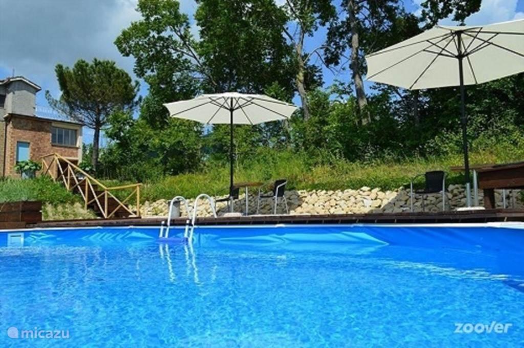 Vakantiehuis Italië, Marche, Penna san Giovanni Appartement Villa RIMO - Appartement Moniga
