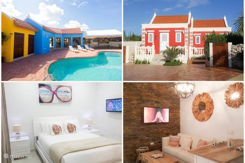 Ferienwohnung Aruba, Aruba Nord, Palm Beach Appartement Luxus-Wohnung mit Zugang zum Pool