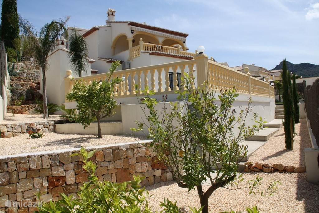 Overall foto van de villa