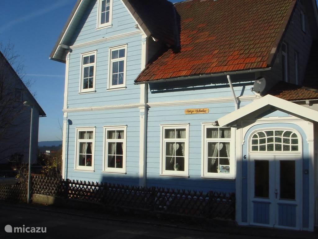 Front of Haus Hubertus