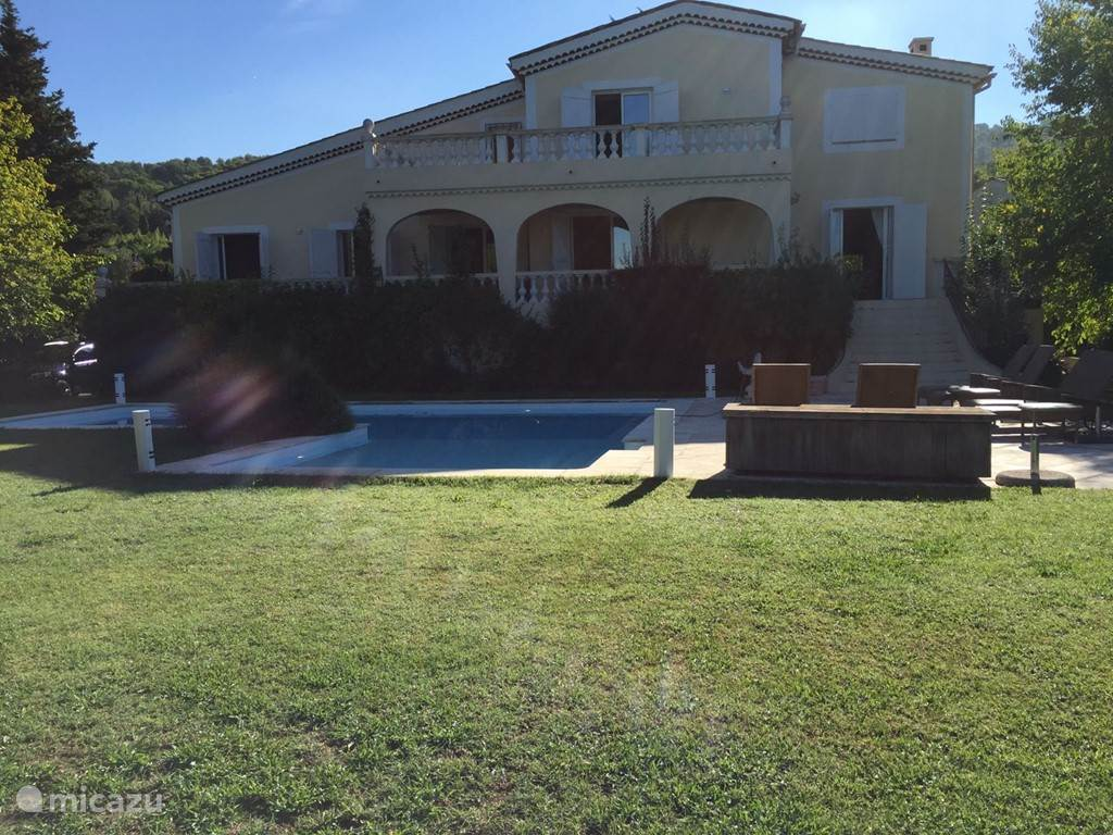 Vacation rental France, French Riviera, Mougins villa Chemin de Jylloue
