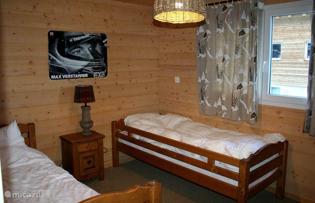 Slaapkamer 3,met 2 eenpersoonsbedden