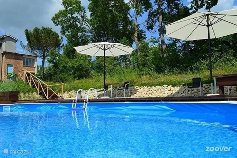 Vakantiehuis Italië, Marche, Penna san Giovanni Appartement Villa RIMO - Appartement Anfo