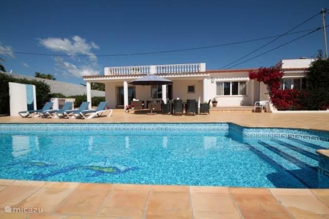 Vakantiehuis Spanje, Costa Blanca, Alfáz del Pi - villa Villa Dulcinea