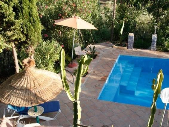 Vakantiehuis Spanje, Andalusië, Frigiliana villa Little Paradise in Fuente Conejo