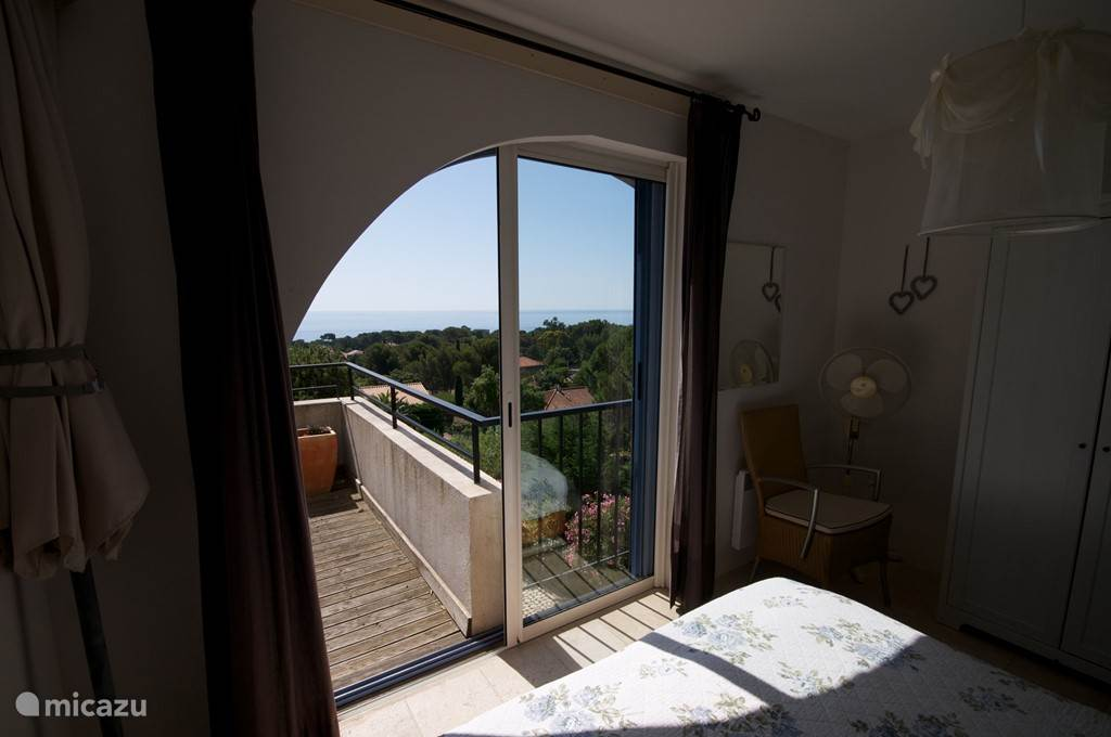 View bedroom la Lavande